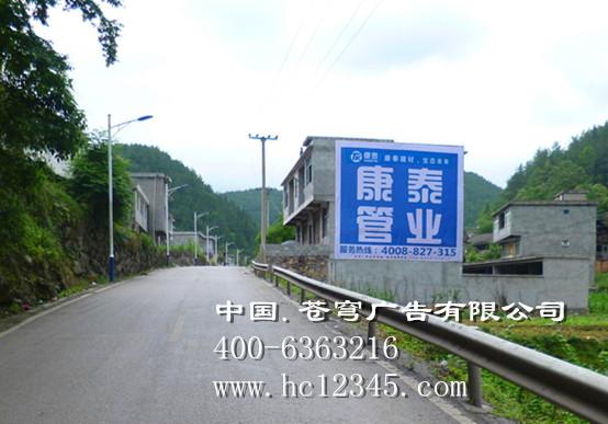 柳州路墙广告